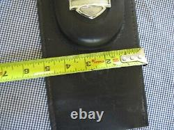 Véritable Harley Davidson Softail Tank Panneau Withpouch Bar & Shield Logo 1984-1997