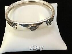 Véritable Harley Davidson Sterling Ladies Bar Et Bracelet Shield 37 Grams