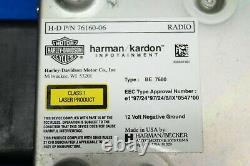 Véritable Harley Davidson Touring Bar & Shield Harman Kardon Module Radio 2006-13