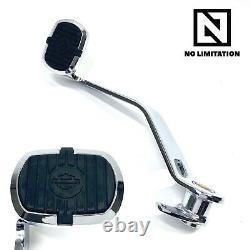 Véritable Harley Oem 07-17 Cvo Breakout Softail Crested Bar Shield Pad Brake Pedal