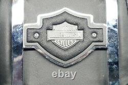 Véritable Harley Sportster Dyna Fxr 12 Backrest Sissy Bar & Shield & Pad 1982-03