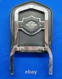 Véritable Harley Sportster Dyna Fxr 12 Dossier Sissy Bar & Shield & Pad 1982-03