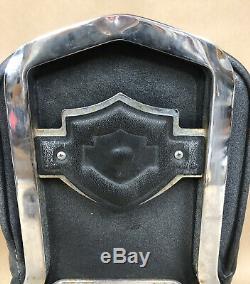Véritable Harley-davidson Sportster Sissy Bar & Passager Pad, Bar & Shield, 79-93