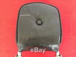 Véritables 1982-1994 Harley Fxr Bar & Shield Sissy Bar Pad Dossier Plaques Latérales
