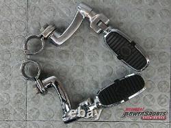 Véritables Chevilles Harley Davidson Bar & Shield Highway + Montures Réglables À 360°