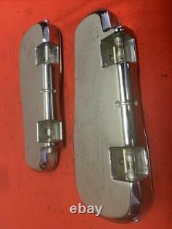 Véritables Planches De Plancher Harley Davidson Bar & Shield Softail Foot