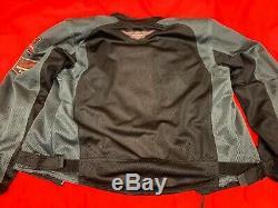 Veste D'équitation Mesh Bar & Shield De Harley Pour Hommes, Taille L, 98233-13vm