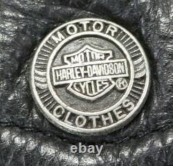 Veste En Cuir Harley Davidson Homme L Noir Nevada 98122-98vm Bar Shield Liner