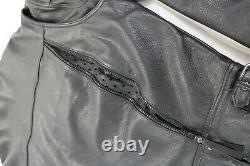 Veste En Cuir Harley Davidson Pour Hommes 2xl Noir Nevada 98122-98vm Bar Bouclier Liner