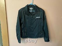 Veste Noire Harley Davidson Réfléchissant Bar & Shield Féminin Taille L 98145-03vw