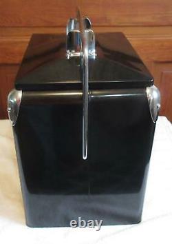 Vintage Harley Davidson Ice Chest Cooler Bar & Shield Retro Metal Cooler