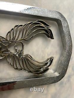 Vintage Harley-davidson Eagle Bar Et Shield Sissy Bar