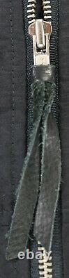 Vtg USA Harley Davidson Nylon Bomber Jacket XL Black Police #1 Eagle Bar Shield