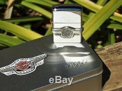 Zippo Harley Davidson 95e Anniversaire Bar And Shield 250hd H271