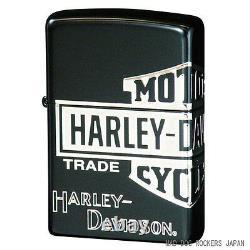 Zippo Harley Davidson Japan Limited Bar Shield Matte Black Ion Silver Hdp-30